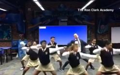 Video thầy giáo 43 tuổi nhảy ráp cùng học sinh hút 3 triệu lượt xem