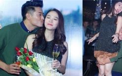 Top 10 tin giải trí ngôi sao nổi bật trong tuần qua: Quý Bình ôm hôn Minh Hằng