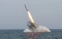 Triều Tiên phát video thử tên lửa đạn đạo từ tàu ngầm