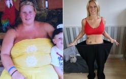 Giảm hơn 60kg trở nên xinh đẹp, vợ bỏ chồng yêu phi công trẻ kém 12 tuổi
