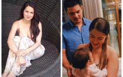 Mỹ nhân đẹp nhất Philippines khoe vóc dáng hoàn hảo sau sinh