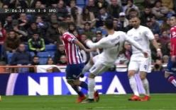 Video: Ronaldo thoát thẻ ngoạn mục với hành động cực xấu