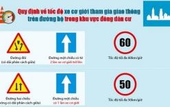 Tin giao thông ngày 20/01: Ô tô đi trong phố được chạy tốc độ tối đa 60km/h