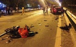 Chạy xe ngược chiều trên đại lộ, nam thanh niên bị xe ô tô cán tử vong