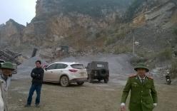 Hiện trường vụ sập mỏ đá 7 người thương vong ở Thanh Hóa