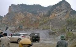 Sập mỏ đá 6 người tử vong: 2 người vẫn còn vùi trong đá