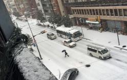 Ngắm cảnh tuyết rơi tại Nhật Bản