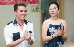 Vợ chồng Lệ Quyên đi từ thiện với Mr. Đàm