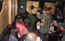 Phát hiện hàng chục đôi nam, nữ dương tính với ma túy trong quán karaoke