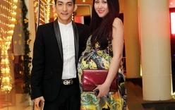 Phi Thanh Vân sắp sinh vẫn nhí nhảnh đi sự kiện
