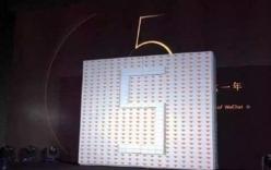 Đại gia xếp bức tường Iphone 6s để thưởng nhân viên