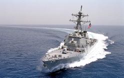 Mỹ điều tàu khu trục cơ động sát đảo Tri Tôn của Hoàng Sa