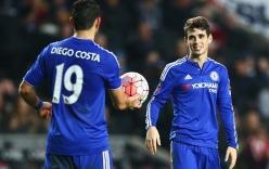 Oscar lập hat-trick, Chelsea vùi dập đội bóng hạng Nhất