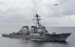 Trung Quốc nổi đóa tố Mỹ theo đuổi bá quyền sau cuộc tuần tra Hoàng Sa