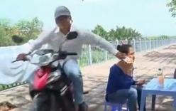 Nữ sinh viên kéo tên cướp điện thoại ngã khỏi xe máy
