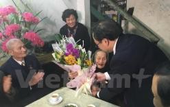 Tân Bí Thư Thành ủy Hà Nội thăm, chúc Tết các gia đình chính sách