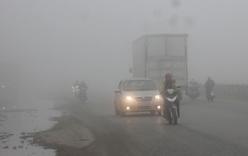 """7 lưu ý """"sống còn"""" khi lái xe trong sương"""