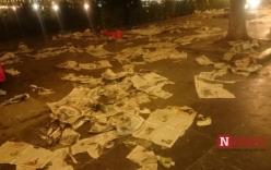 Hà Nội nhếch nhác, xấu xí sau đêm giao thừa 2016