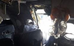 Video:Hai nhân viên sân bay giấu bom trong laptop gây thủng máy bay