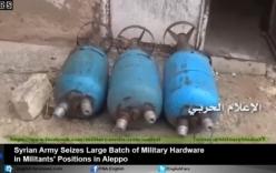 Syria: Cận cảnh kho vũ khí lớn của khủng bố ở Mayir, Aleppo