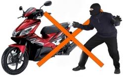 """""""Mẹo"""" chống mất cắp xe máy trong """"tháng củ mật"""""""