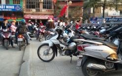 Giá vé gửi xe chùa Hương bị 'đội' lên gấp nhiều lần trước giờ 'G'