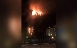 Video: Cháy lớn tại Trung tâm thương mại 88 tầng