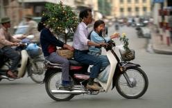 Xe đi tết của người Hà Nội những năm 90