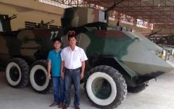 Nông dân Việt nâng cấp, chế tạo hàng loạt xe tăng cho Campuchia