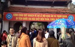 Người dân khắp nơi đổ về đền Trần Nam Định đầu năm