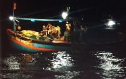Cứu thành công 9 ngư dân bị nạn trên biển về đến Đà Nẵng