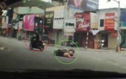 Top video hot ngày 16/2: Thanh niên chạy xe vượt đèn đỏ, tông gục cô gái