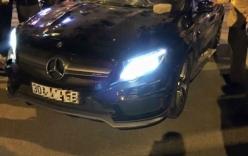 Hà Nội: Đánh ghen cô gái trẻ giữa đường, Mercedes bị ném vỡ kính
