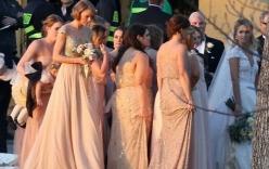 Taylor Swift rạng rỡ làm phù dâu đám cưới bạn thân