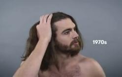 DIện mạo đàn ông Mỹ thay đổi chóng mặt qua 100 năm
