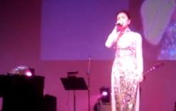 Tăng Thanh Hà khoe giọng hát ngọt ngào