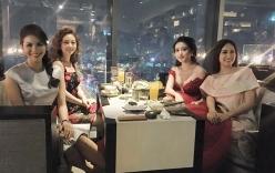 Facebook sao Việt: Huyền My hội ngộ các Hoa hậu