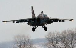 Chiến đấu cơ Su-25 của Nga rơi, phi công tử nạn