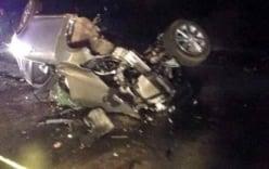Tai nạn thảm khốc ở Hà Giang: 2 xe con tông nhau 4 người chết