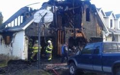 Bị đình chỉ học, 4 học sinh rủ nhau đốt nhà thầy hiệu trưởng