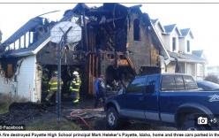 Mỹ: Học sinh phóng hỏa đốt nhà hiệu trưởng sau khi bị đình chỉ học