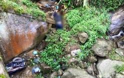 Phát hiện thi thể nam thanh niên dưới khe suối ở Sa Pa