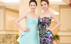 Dương Thùy Linh đọ sắc bên Jennifer Phạm tại sự kiện