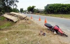 Rơ moóc tự chế gây tai nạn làm chết 2 người