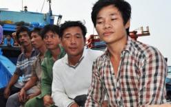 5 ngư dân trôi dạt 48 giờ ở vùng biển Hoàng Sa đã trở về đất liền