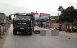 Thương tâm cảnh 3 người tử vong sau va chạm với xe tải
