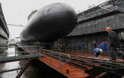Video: Tận mắt xem tàu ngầm mới nhất của Nga được hạ thủy