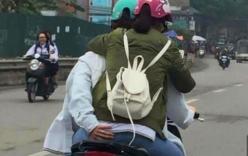 Phản cảm cặp đôi thể hiện tình yêu thái quá trên đường