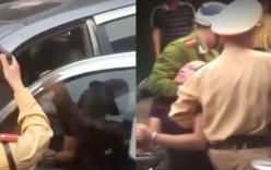 Video: Tài xế gây tai nạn liên hoàn còn đuổi đánh nạn nhân bị người dân vây bắt