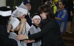 Những hình ảnh nghẹn ngào trong phút cuối tiễn biệt Trần Lập